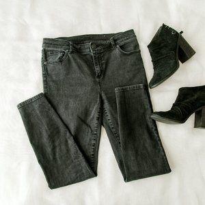 Dark Gray Loft Jeans